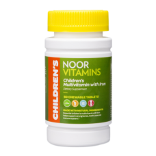 CHILDREN'S CHEWABLE  MULTIVITAMIN with IRON - SHIPS FROM USA   Halal-Vitamins