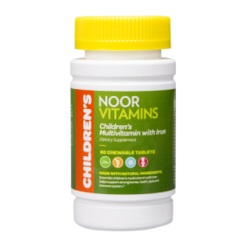 CHILDREN'S CHEWABLE  MULTIVITAMIN with IRON - SHIPS FROM USA | Halal-Vitamins