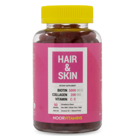 HAIR & SKIN GUMMY - SHIPS FROM USA | Halal-Vitamins