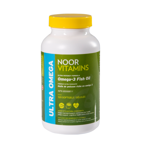 Halal pharmaceuticals noor vitamins for Fish oil for toddlers speech delay